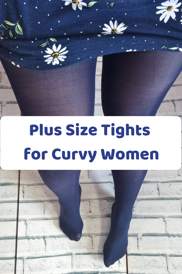 59136565a9af7 Plus Size Tights for Curvy Women | The Geordie Grandma